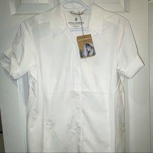 Small White Royal Robbins Button Up Shirt Blouse
